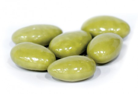 Matcha White Chocolate Almonds